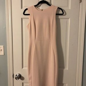 Blush Calvin Klein Dress